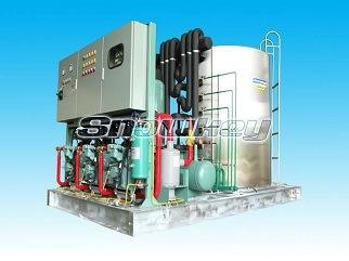 Máy sản xuất nước đá viên tinh khiết 2 tấn