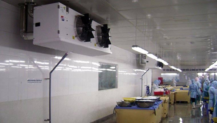Ba phương pháp xả băng dàn lạnh công nghiệp hiệu quả