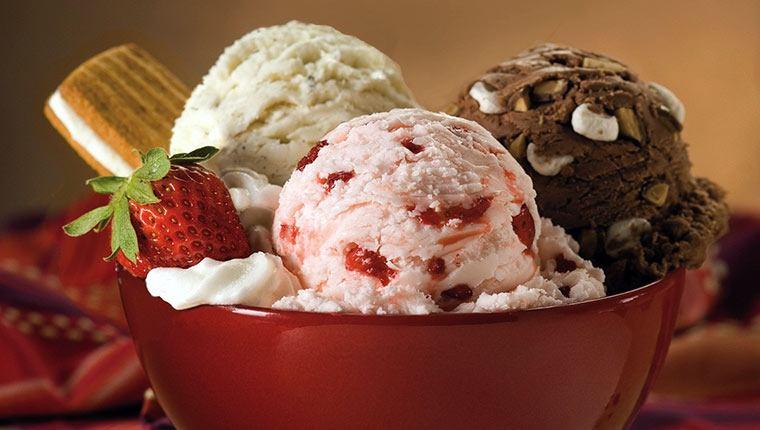 Công thức làm kem với máy làm kem