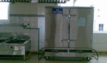 Lắp đặt tủ nấu cơm công nghiệp