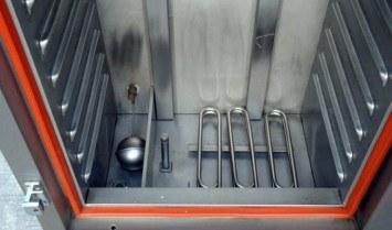 thiết kế của tủ nấu cơm