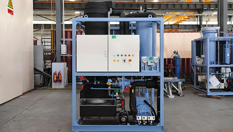 máy làm đá ống công nghiệp