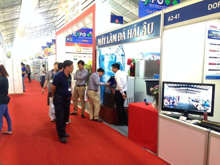 Hải Âu tham gia Hội chợ Thương mại Quốc tế Việt Nam – VIETNAM EXPO 2016