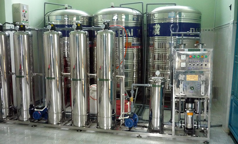 nước tinh khiết bảo vệ sức khỏe người dùng