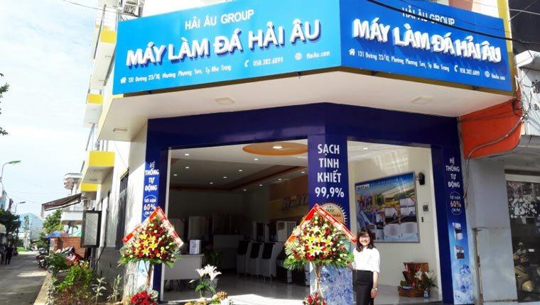 Hải Âu Group Khai Trương Showroom Máy Làm Đá tại Nha Trang