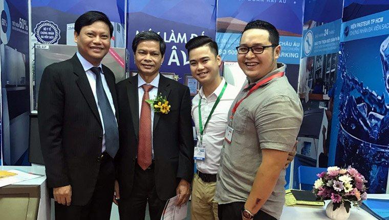 Hải Âu Group tham gia Hội chợ VIETNAM EXPO 2016 tại TP. Hồ Chí Minh