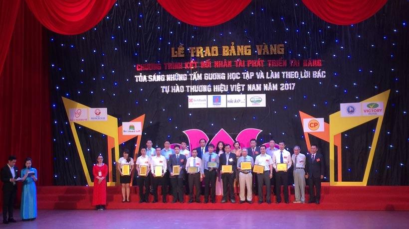 Hải Âu – Top 10 Thương Hiệu Việt Nam 2017