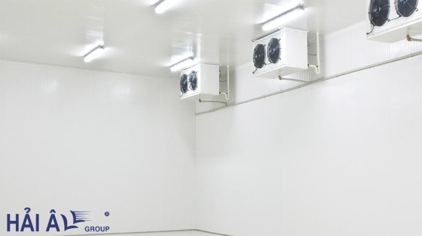 Kho lạnh thuận tiện cho việc dự trữ hàng hoá