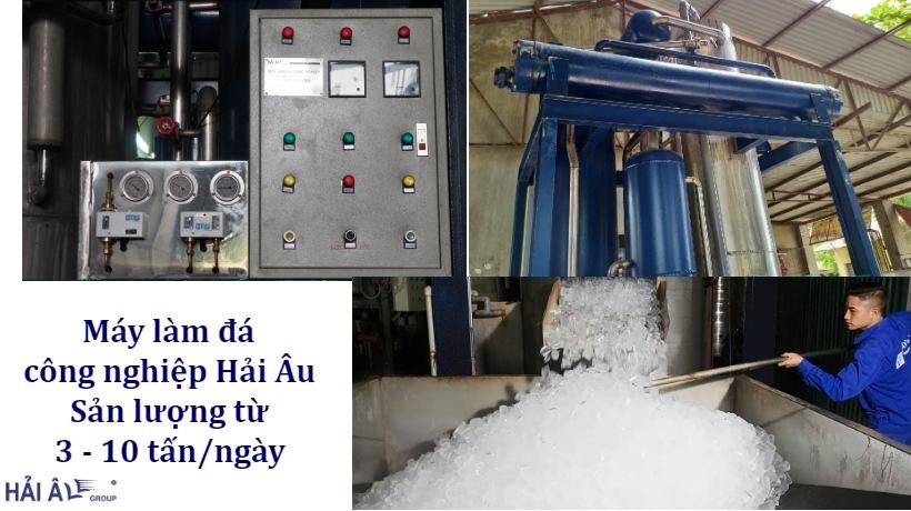 Máy làm đá công nghiệp Hải Âu